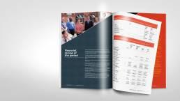 YMCA London Report design