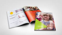 YMCA London Annual Report Design